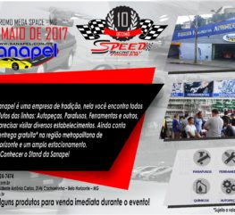 Sanapel na 10ª Edição do Speed Racing Day BH